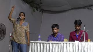 JNUSU Elections 2018  UGBM Speech with Q/A :  Sarika Chaudhary  Left Unity  Vice President Candidate
