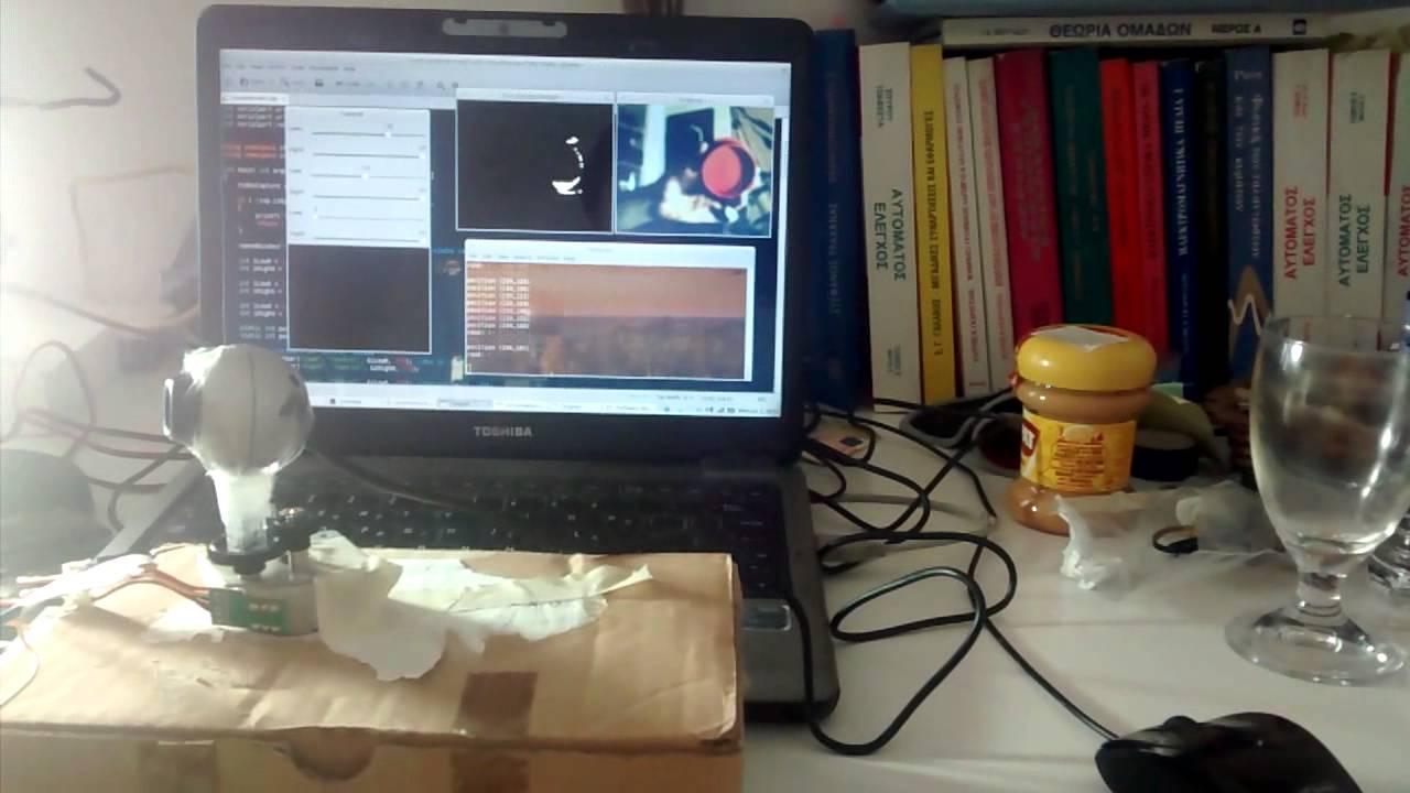 Visual Servoing using a Webcam, Arduino and OpenCV – Christos