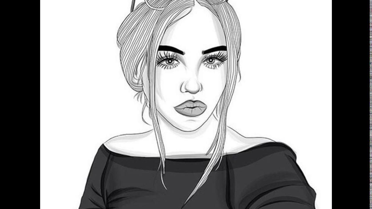 amazing drawings of girls youtube