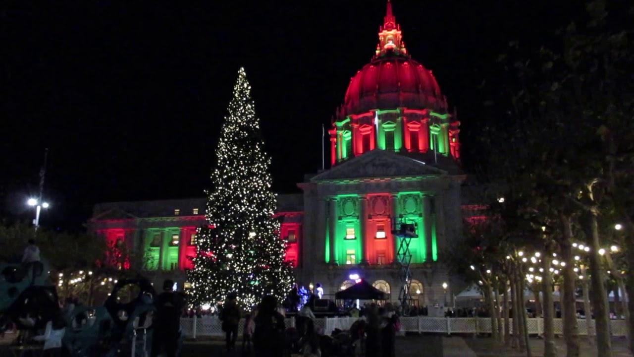 Civic Center Plaza Tree Lighting