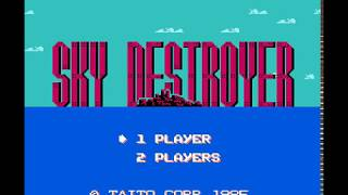 NES Longplay [752] Sky Destroyer
