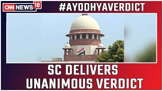 Ayodhya Verdict: Ram Mandir-Babri Masjid Dispute Explained as SC Delivers Unanimous Verdict