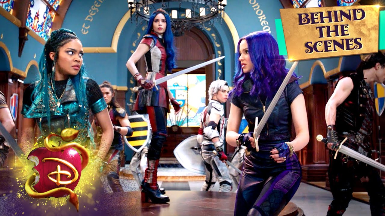 Night Falls⚔️ | Behind the Scenes | Descendants 3
