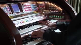 "Walter Hammel  Plays ""Love Is A Many Splendored Thing"" on the Lowrey Prestige Organ"
