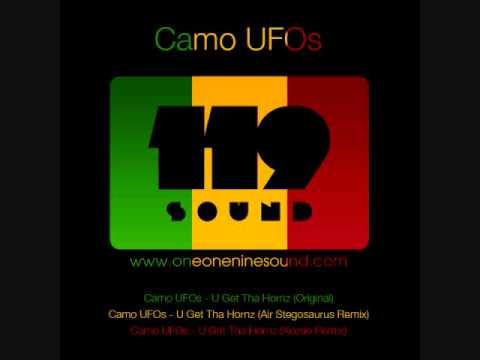 CAMO UFOS - U GET THA HORNS (KOZEE RMX) [RINSE.FM RIP]