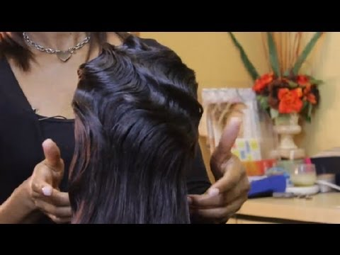 How To Style A Finger Wave Hairstyle Tips For Styling