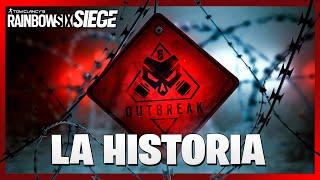 La HISTORIA COMPLETA de OUTBREAK ◄► Caramelo Rainbow Six Siege Español