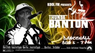 THE MANY MOODS OF THUNDA BANTON # STRICTLY 90s DANCEHALL RAGGA Pt 1 # Recorded from KOOL LONDON ~ KO