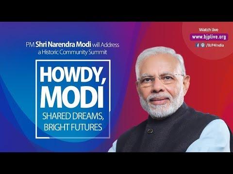 PM Narendra Modi Addresses #HowdyModi Community Programme In Houston, USA