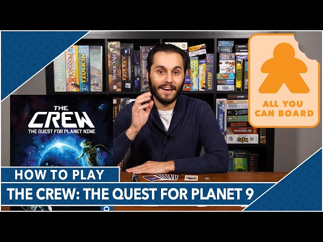 The Crew: The Quest for Planet 9: How to Play by AYCB (2020 Kennerspiel des Jahres Nominee)