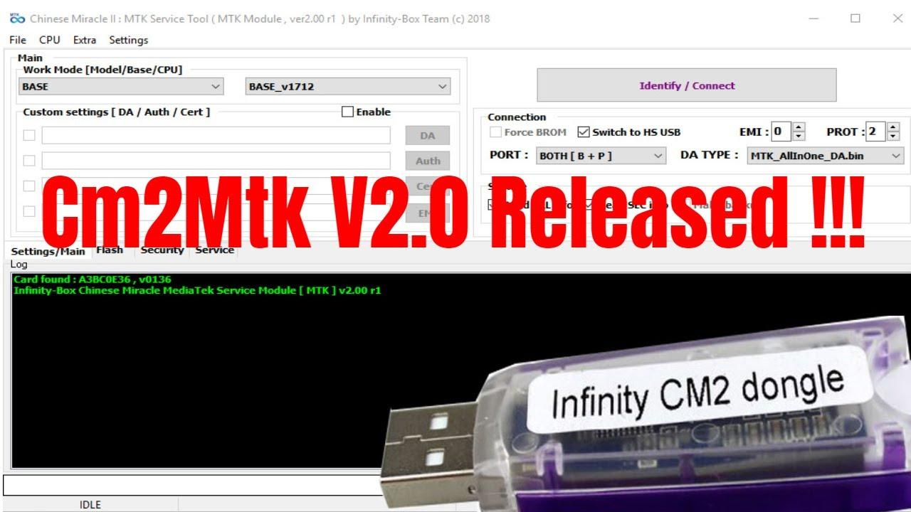 Infinity Cm2 Mtk V2 0 Secure Boot Error Problem Fix/Read/Write/Remove Frp