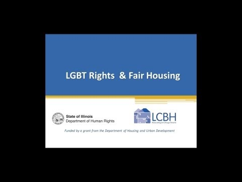 LGBT Rights & Fair Housing