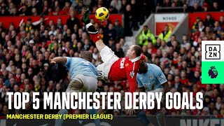 Top 5 Manchester Derby Goals of All Time