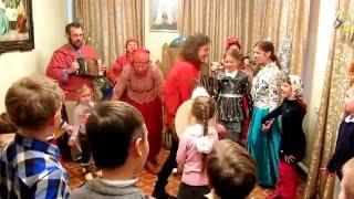 Детский рождественский праздник в храме и театр