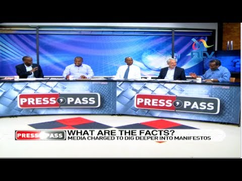 Media challenged to dig deeper into Political parties manifestos - Press Pass