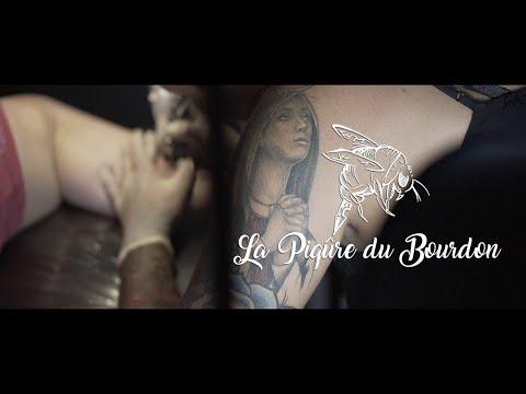 Spot La Piqure Du Bourdon Tatouage La Reunion 974 Youtube