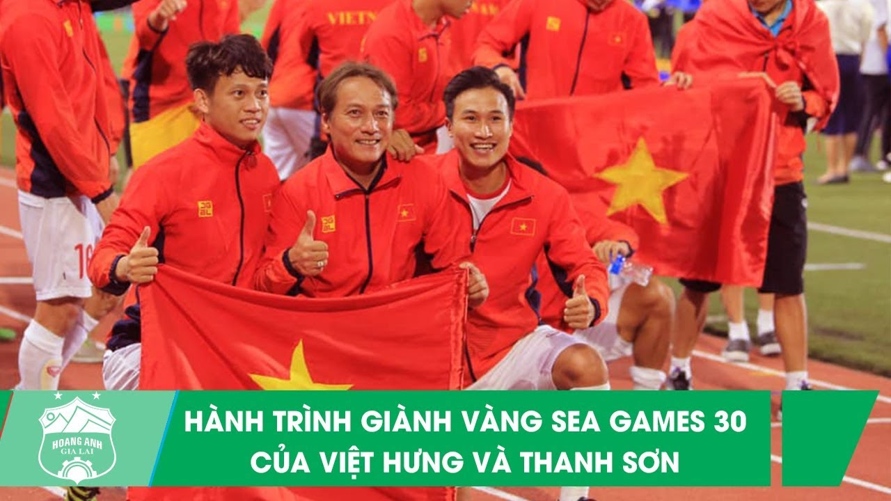 Những pha bóng ấn tượng của cặp đôi Triệu Việt Hưng -  Trần Thanh Sơn tại SEA Games 30 | HAGL Media