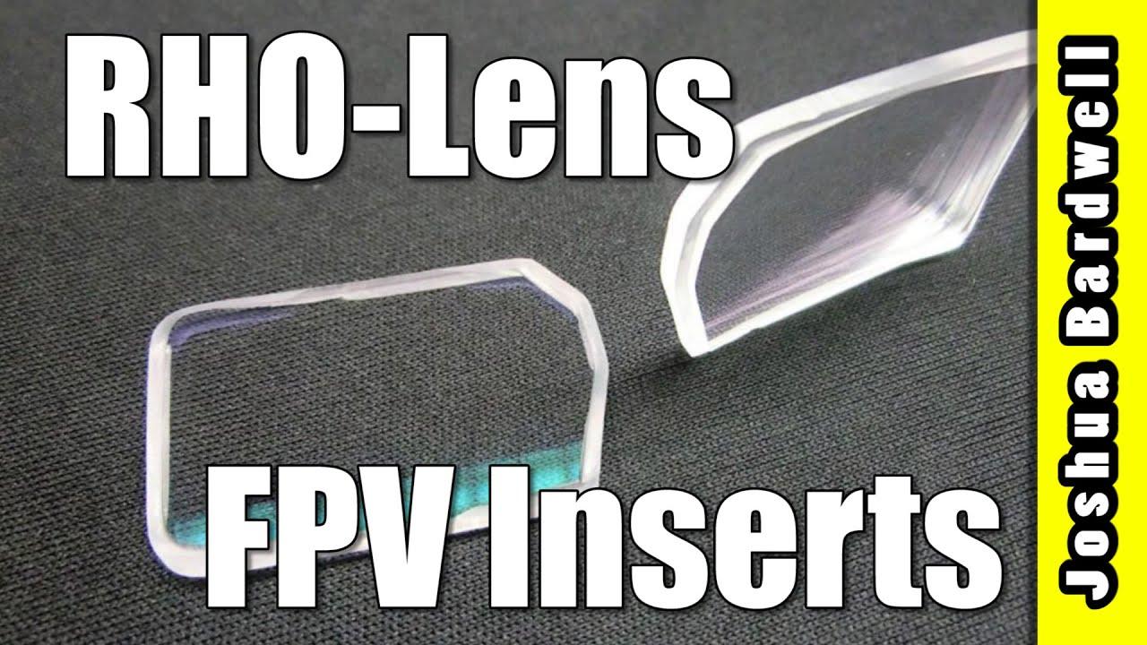 634f50dcaf1 RHO-Lens Custom Fatshark and HeadPlay Optical Diopter Inserts - YouTube