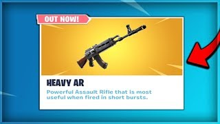 🔴NEW Heavy AR Is Out! // AK47 Gameplay + NEW Starter Pack! // (Fortnite Battle Royale LIVE)