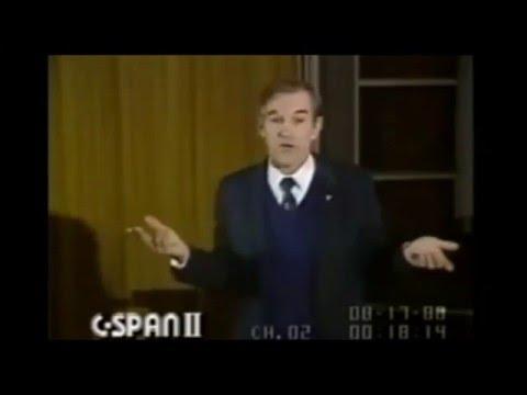 Ron Paul Describing Murray Rothbard