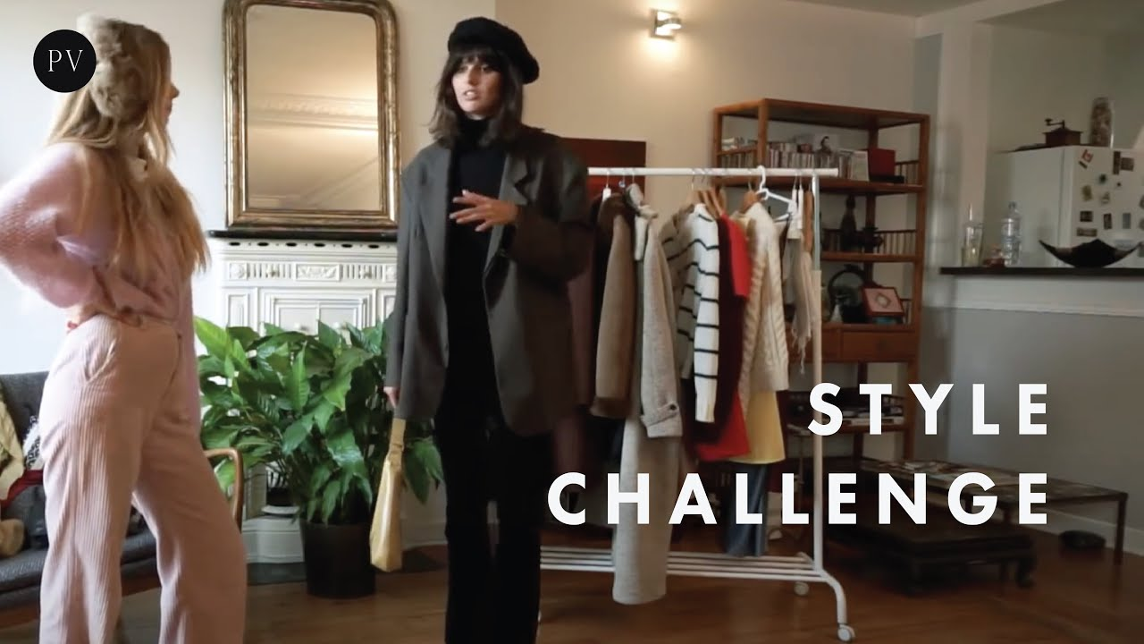 Parisian Style Challenge | 2 Girls & 12 Looks that will make you excited | Parisian Vibe