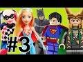 #3 Arlequina Harley Quinn DC Super Hero  Coringa Loki  Batman Super Homem  brinquedos bonecos Lego
