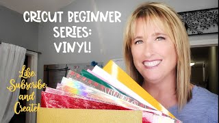 Cricut Beginner Series: Vinyl!