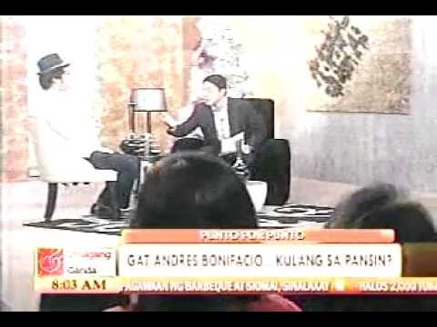 XIAO CHUA INTERVIEW BY ANTHONY TABERNA ON ANDRES BONIFACIO DAY 2010