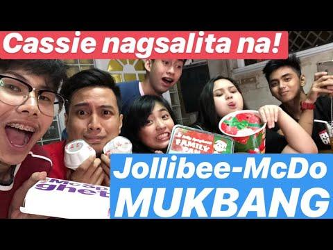 Nagsalita na si Cassie | Jollibee-McDo Mukbang