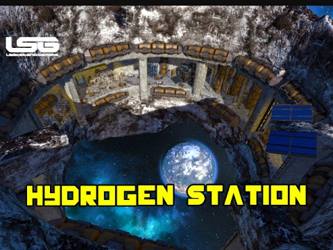 Space Engineers - Asteroid Hydrogen Station (ChopShop)