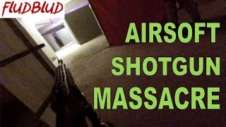 HKOTG Shotgun Battlefield Airsoft Game at Red Alert, Hong Kong - Tokyo Marui SPAS 12