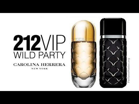 1efd537cc Carolina Herrera - 212 VIP Wild Party Perfume Collection - YouTube