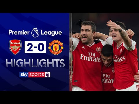 Arsenal secure first victory under new boss Arteta! | Arsenal 2-0 Man Utd | EPL Highlights