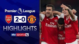 Arsenal secure first victory under new boss Arteta! | Arsenal 2-0 Man Utd | EPL Highlights
