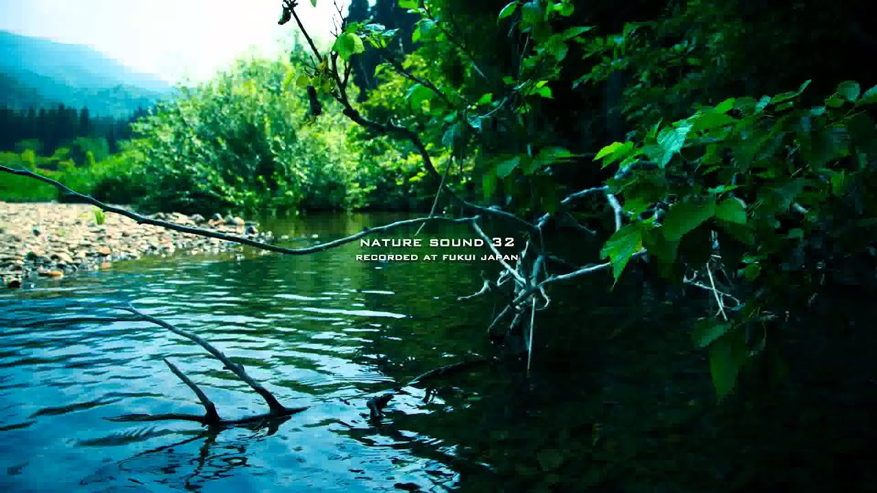 Nature Sound 32 - STREAM SOUND / THE MOST RELAXING SOUNDS ... Relaxing Nature Sounds