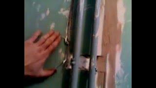 Клеим кафель на гипсокартон в детском саду(Ремонт ванной в детском саду., 2011-11-26T17:22:08.000Z)