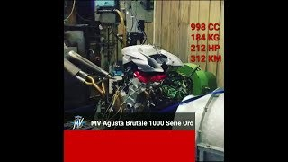 MV Agusta Brutale 1000 Serie Oro - Engine and Exhaust Sound