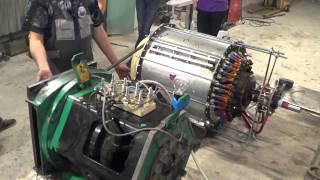 5-8 пуск Лимана в ИКС сити в связке с генератором 26.12.2014    - Глобальная Волна