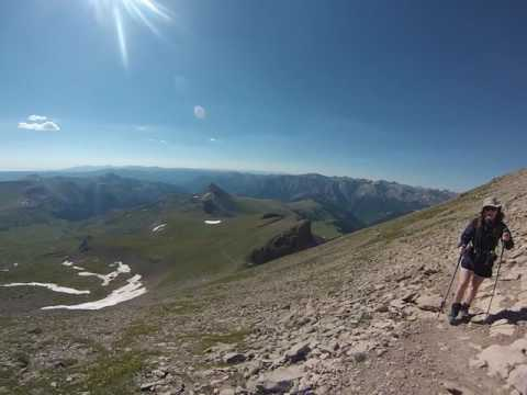 Uncompahgre Peak Trail July 2016