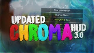 ChromaHUD 3.0 (Major Rewrite of Entire Mod + Color Palette+ Redesigned and improved)