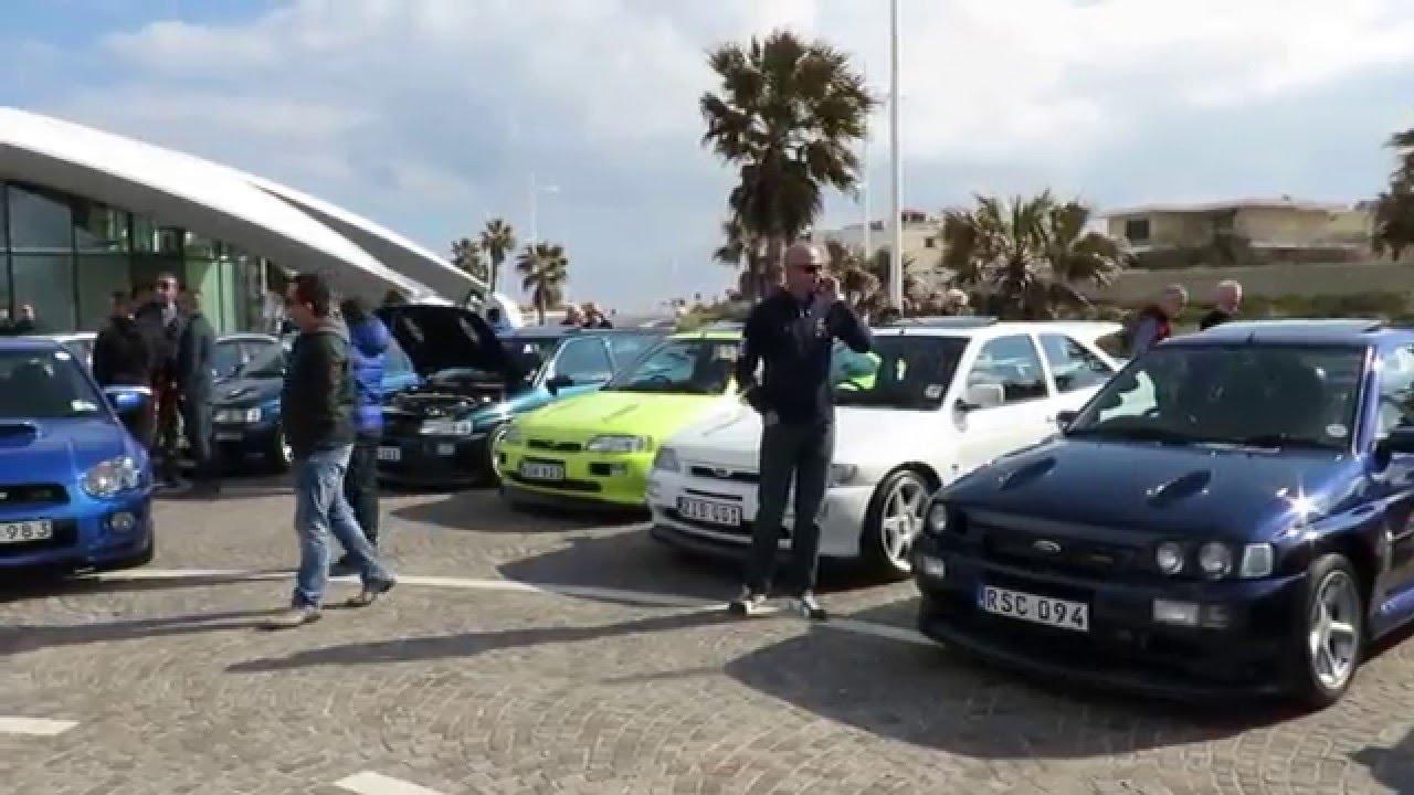 East Meets West Ford Subaru Mitsubishi Car Meet Qawra Malta