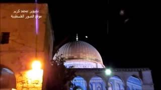 Filistin'deki Camii'ye Melekler geldi İnanılmaz Görüntüler