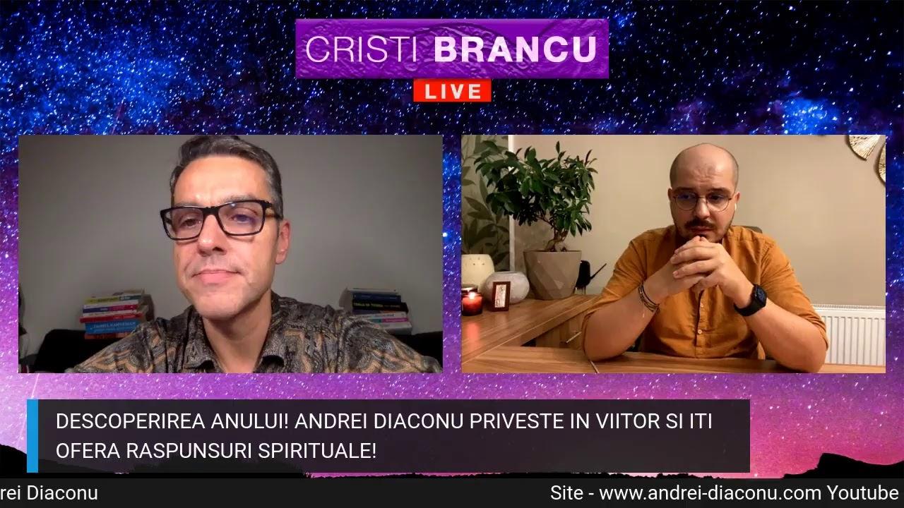 DESCOPERIREA ANULUI! ANDREI DIACONU PRIVESTE IN VIITOR SI ITI OFERA RASPUNSURI SPIRITUALE