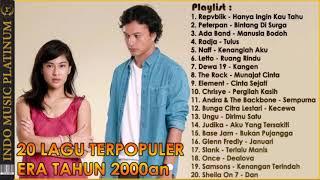 TOP 20 - Koleksi Lagu POP Paling Populer Era Tahun 2000an
