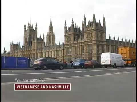 JOURNEY FROM FRANCE TO LONDON  by  CAR & FERRY -  Vietnamese and Nashville TV