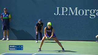 Ivana Jorovic vs. Iga Swiatek | US Open 2019 R1 Highlights