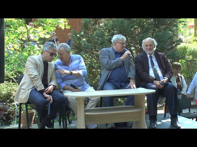 2021.09.05. Szolidaritási beszélgetés Iványi Gábor és a MET mellett - Megbékélés Háza Templom - új