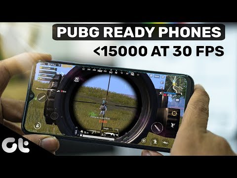 Best 3 Phones Under 15000 To Play PUBG With AMAZING GRAPHICS (30 FPS) | GT Gaming