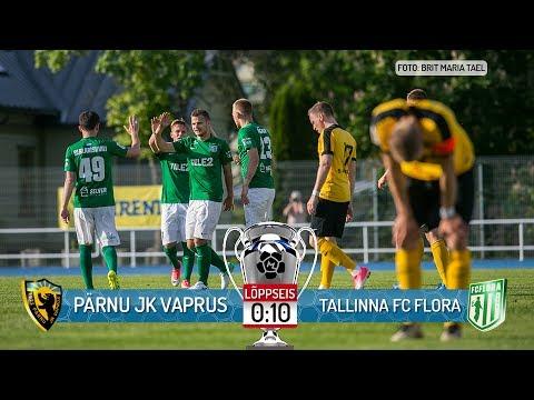 bc73fd544e5 16. voor 2017: Pärnu JK Vaprus - Tallinna FC Flora 0:10 (0:6) - YouTube