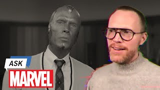 Paul bettany answers your questions on ask marvel. watch marvel studio's wandavision streaming exclusively disney+.► subscribe to marvel: http://bit.ly/we...